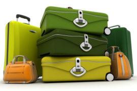 viaggiare con bagagli