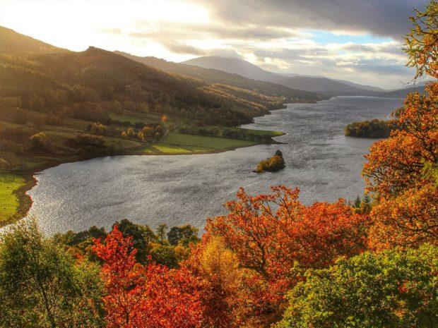 visitare la Scozia in autunno