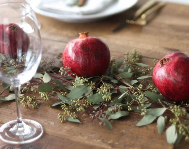 decorare la tavola a natale