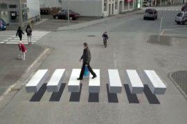 Gauti Ívar Halldórsson strisce pedonali 3D