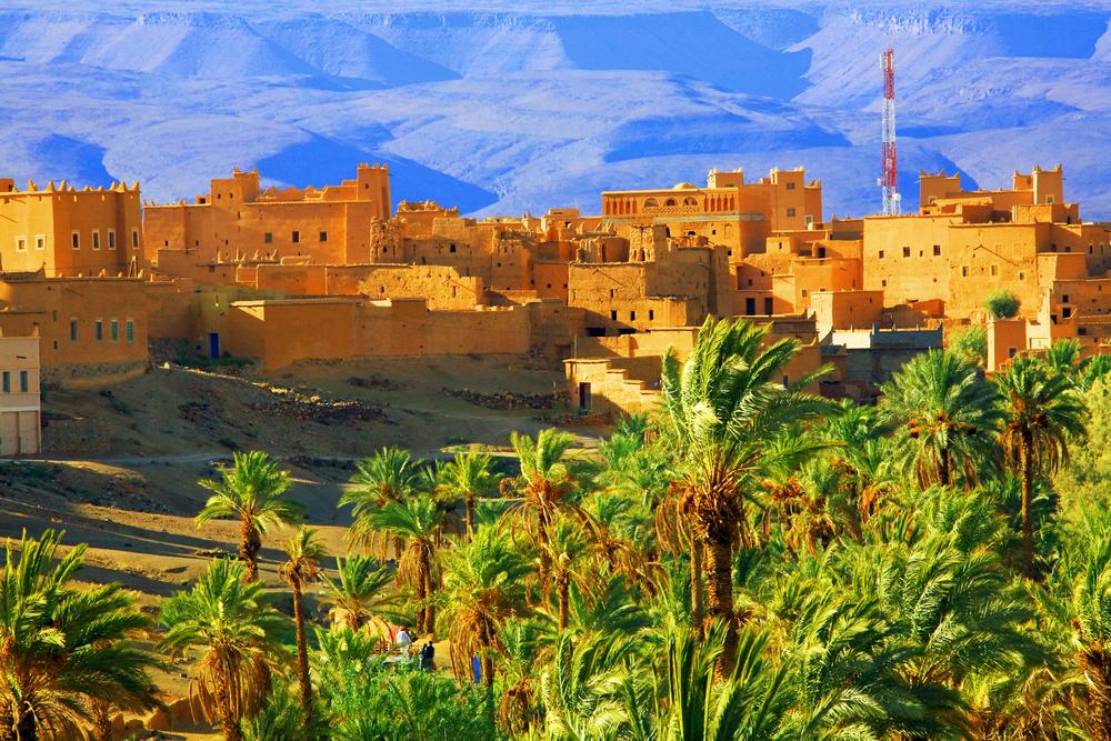 monti dell'atlante marocco