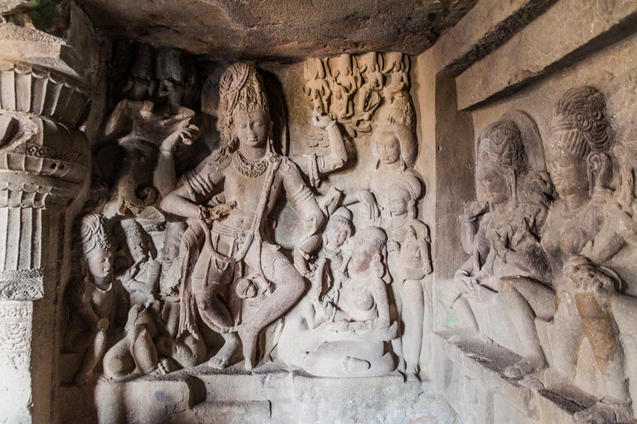 ellora grotte india